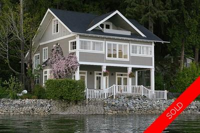 Woodlands/ Indian Arm House for sale: 4 bedroom 3,154 sq.ft. (Listed 2013-08-14)